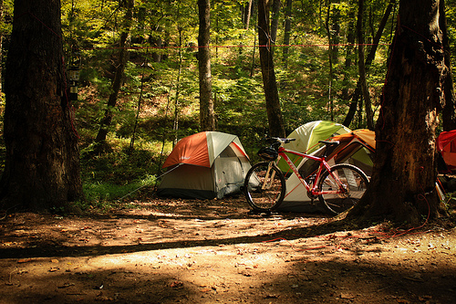 Biking, Hiking, Camping!